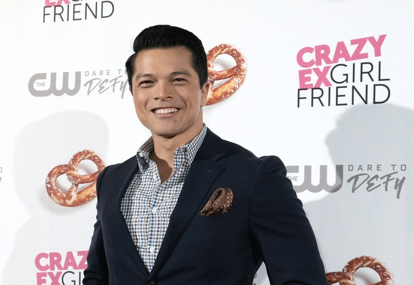 """Actor Vincent Rodriguez III attends the """"Crazy Ex-Girlfriend"""" season 4 premiere party on October 13, 2018 in Los Angeles."""