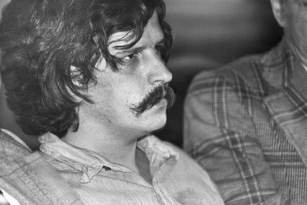 William Bonin, known in Southern California as the Freeway Killer, was convicted of 10 counts of murder on Jan. 5, 1982, in Los Angeles. He was later convicted of four other slayings in an Orange County trial. Bonin raped and killed 14 boys and young men, some of them hitchhikers, during a yearlong rampage that spread fear across Southern California. He was arrested in Hollywood on June 11, 1980, while sodomizing a 17-year-old runaway from Orange County. In Bonin's van, police found gear he had used to rape and strangle his victims: wire, rope and a jack iron with which he twisted victims' T-shirts around their necks. He was executed in 1996.