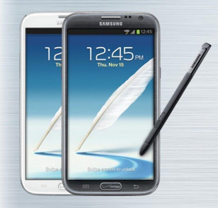 Verizon is taking preorders for Samsung Galaxy Note II