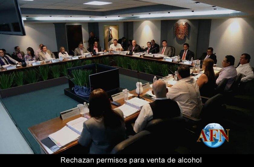 Rechazan permisos para venta de alcohol