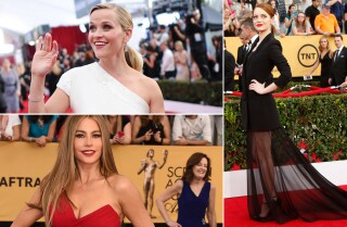 SAG Awards 2015: Celeb fashion rewind
