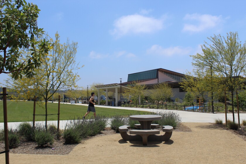 The new Pacific Highlands Ranch Community Park.