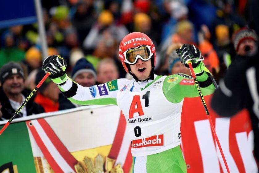 El esloveno Zan Kranjec se apunta la victoria en el gigante de Saalbach