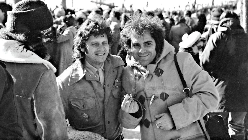"""An image from the book """"Did It! From Yippie To Yuppie: Jerry Rubin, An American Revolutionary"""". p."""