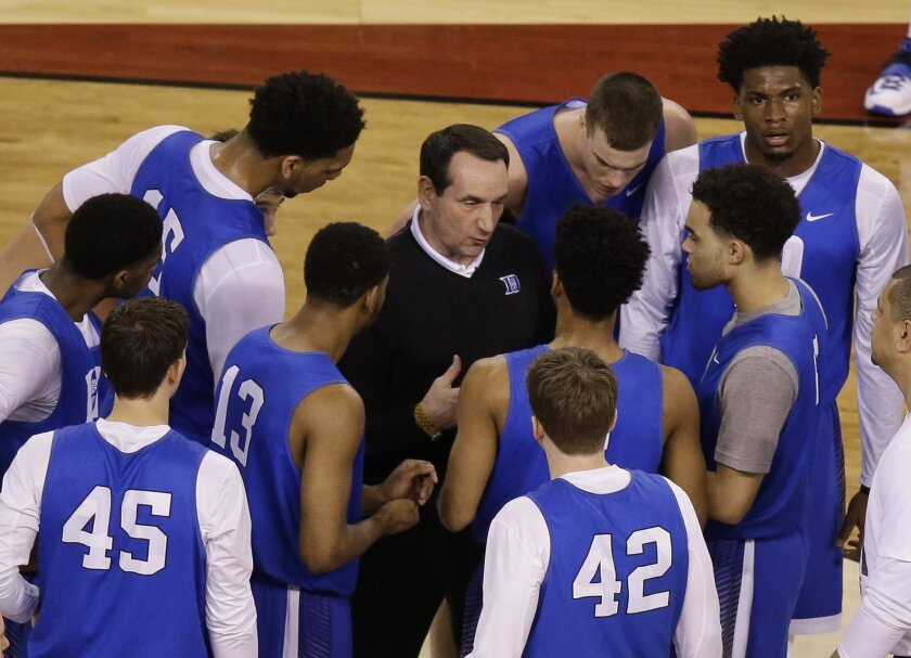 new concept b61fb 228a0 Blue Devils, Spartans take on undercard feel at Final Four ...