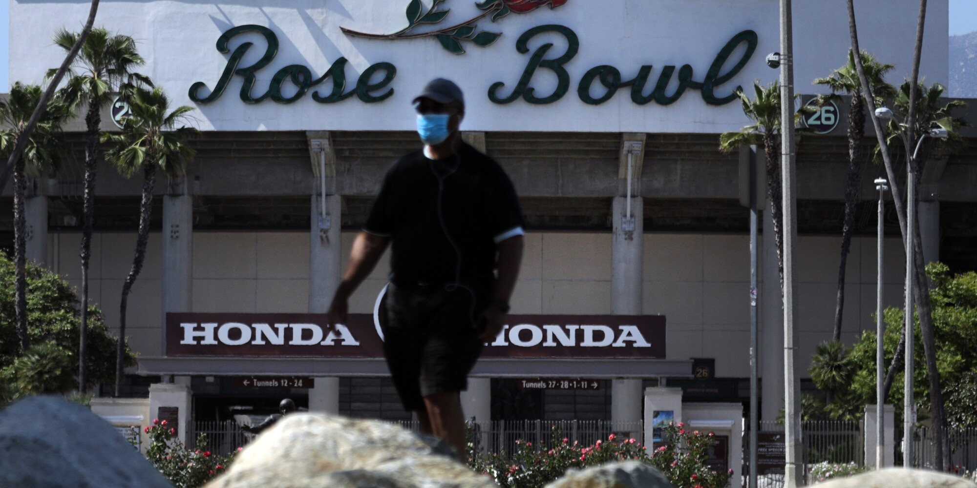 The Pasadena City Council opened the Rose Bowl Loop on Wednesday allowing visitors to enjoy the popular 3-mile trail around the Rose Bowl stadium.