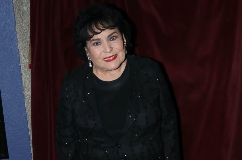 La actriz mexicana Carmen Salinas en una imagen de archivo.