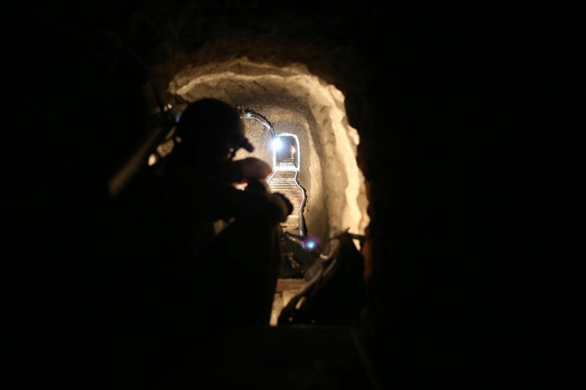 A drug tunnel discovered last week between Tijuana and San Diego had electricity, ventilation and a rail system.