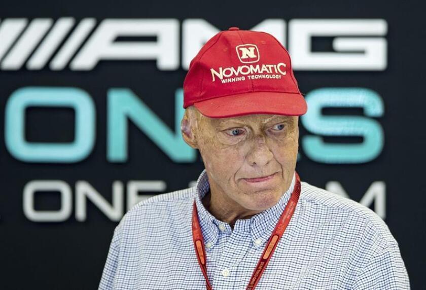 El expiloto austríaco Niki Lauda. EFE/Archivo