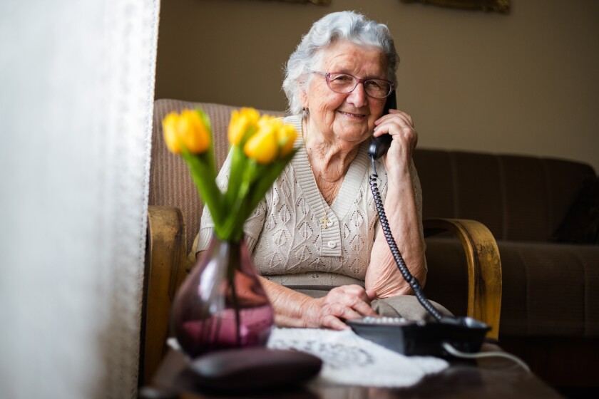The program offers English- and Spanish-speaking volunteers. The volunteer staff can also recommend local services to seniors who need additional support, including nutritional programs and food for pets.