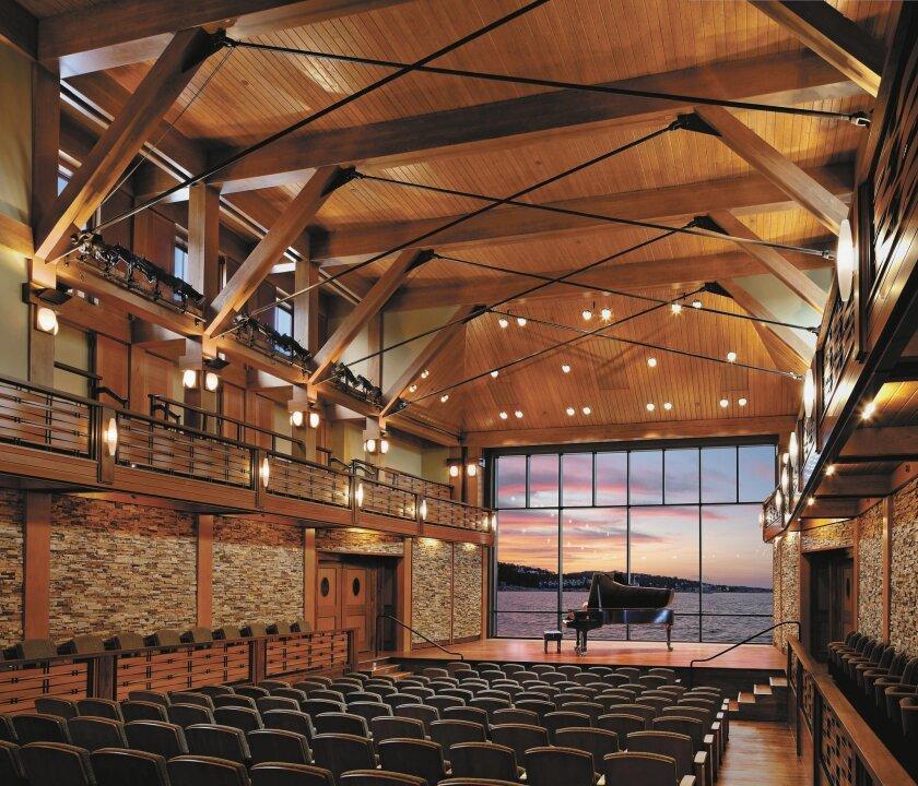Shalin Liu Performance Center in Rockport, MA, designed by Epstein Joslin Architects. Photo: Epstein Joslin Architects