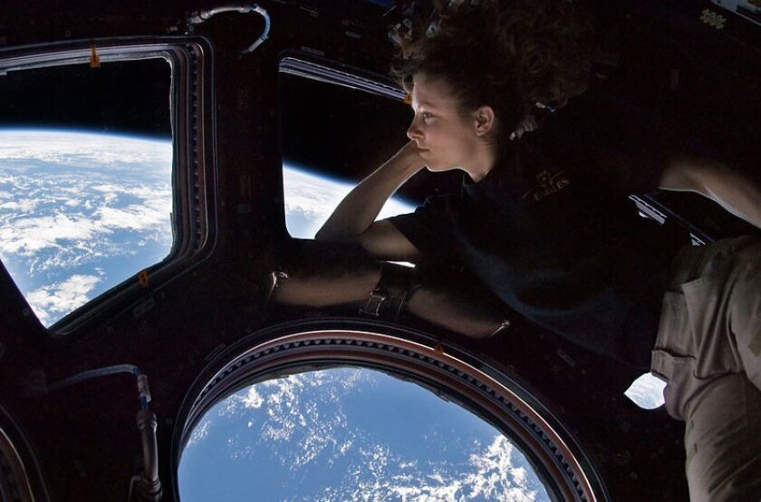 Southern California native Tracy Caldwell spent 176 days aboard space station in 2010.
