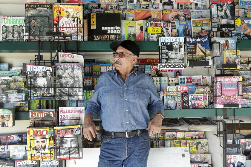 Spanish-language newsstand, a 1940s Boyle Heights gem, braces for the end