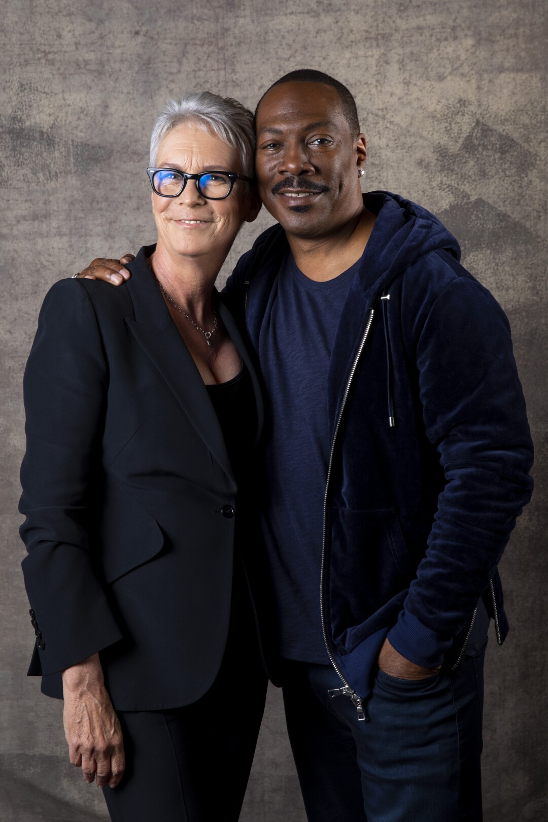 Jamie Lee Curtis and Eddie Murphy