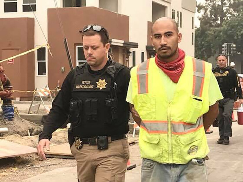A man is arrested in Vacaville.