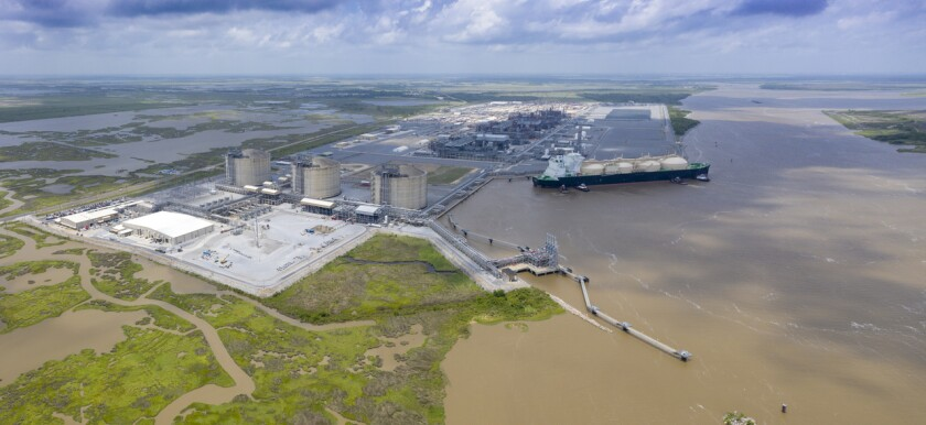 Cameron LNG first commissioning cargo, June 2019