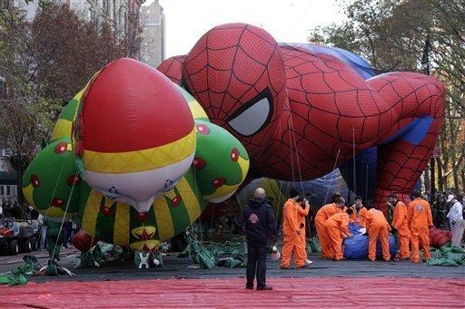El desfile de Día de Acción de Gracias en Nueva York