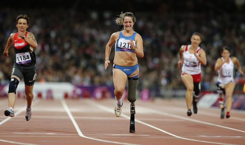 Italy Paralympics Doping Caironi