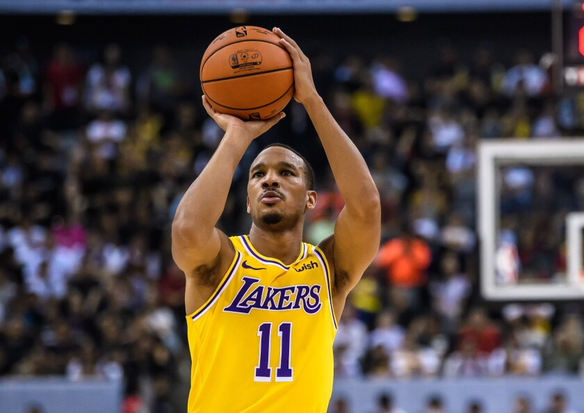 Avery Bradley is out for Lakers' game against Bulls tonight - Los ...