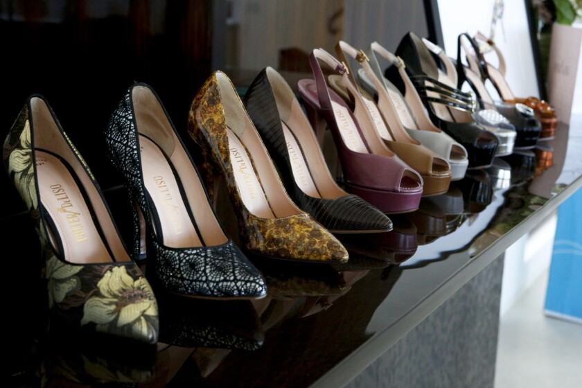 Women's shoe line Palter DeLiso is relaunching a vintage style line.