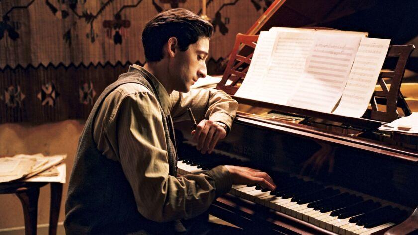 """Directors Guild Awards: Adrien Brody stars in Roman Polanski's movie, """"The Pianist."""""""