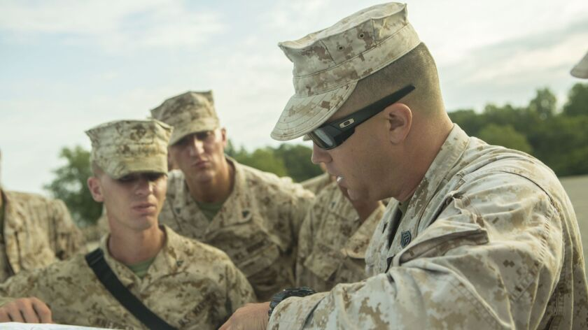 CLR-2 Marines provide support to 3rd Battalion 2nd Marine Regiment at Fort A.P. Hill