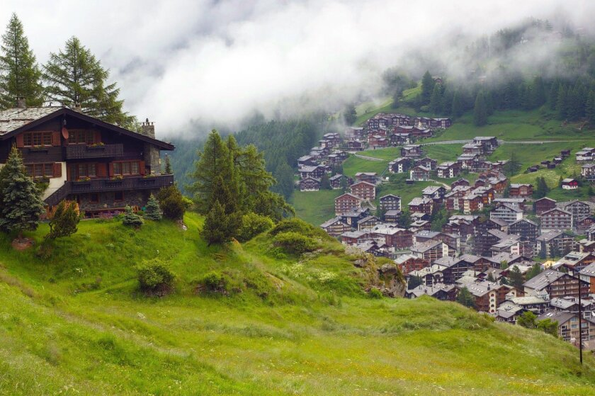 With more than 250 miles of hiking trails, Zermatt is a mountaineer's paradise.