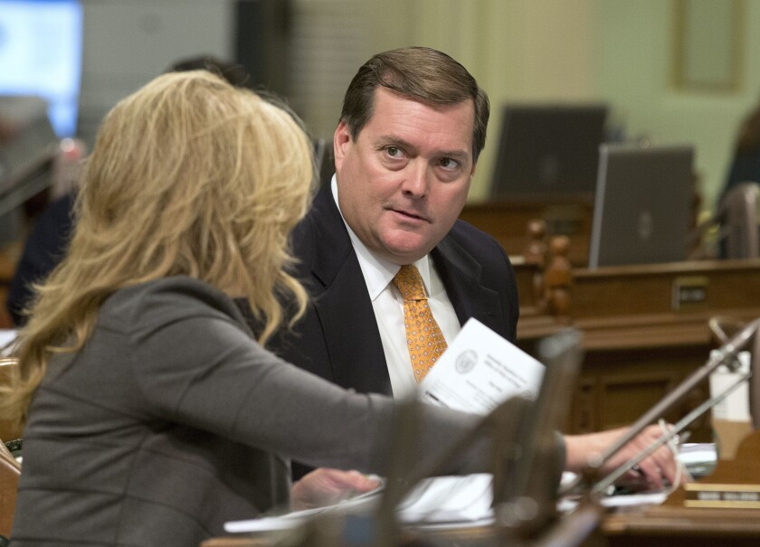 Assemblyman William Brough in August 2016 in Sacramento.