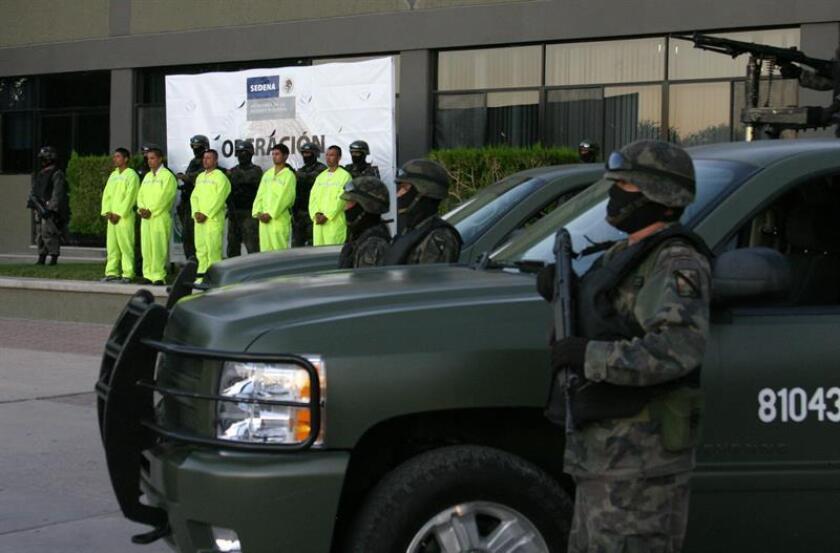 La Comisión Nacional de los Derechos Humanos de México (CNDH) detectó una serie de irregularidades en las instalaciones del área de detención de la Fiscalía General, las cuales pueden derivar en maltrato, informó hoy el organismo en un comunicado. EFE/Archivo