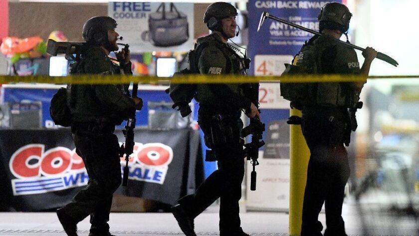Costco shooting: Corona police say officer holding child was attacked and opened fire