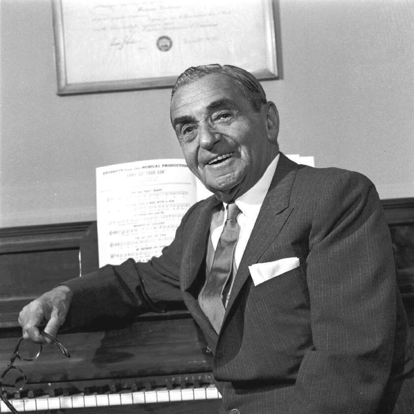 "Irving Berlin presented himself the Oscar for ""White Christmas"" at the 15th Academy Awards."