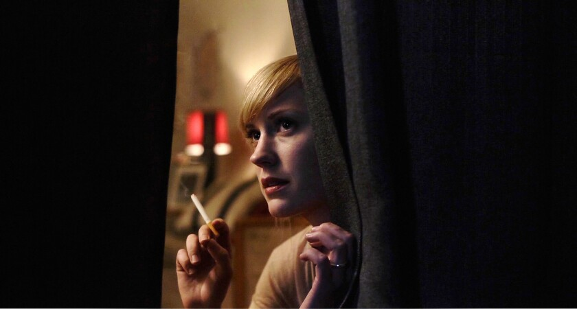 """Lauren Lee Smith stars in """"Cinemanovels."""""""