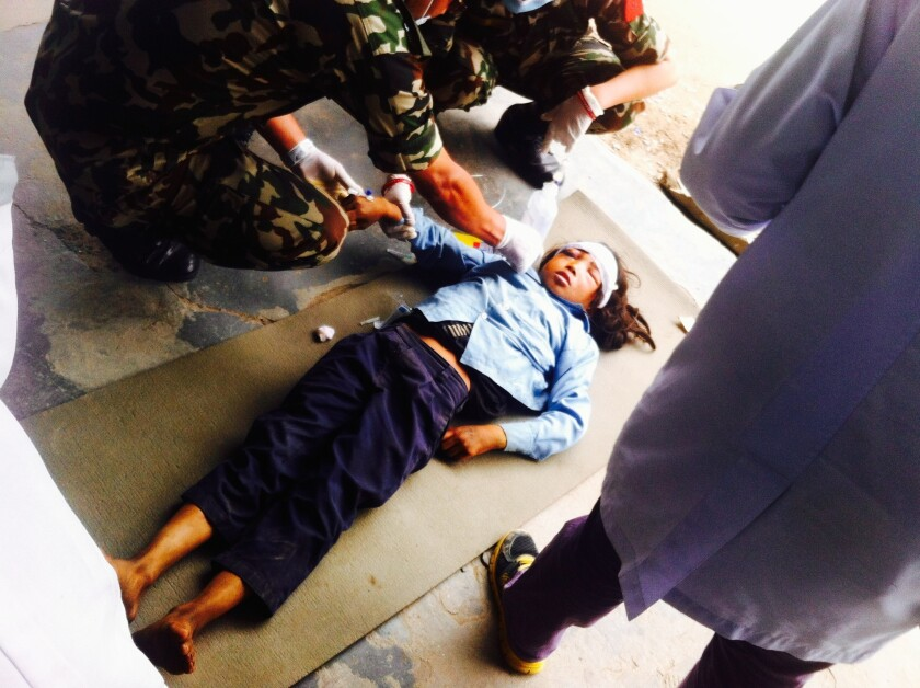 Ronisa Tamang, Nepal earthquake