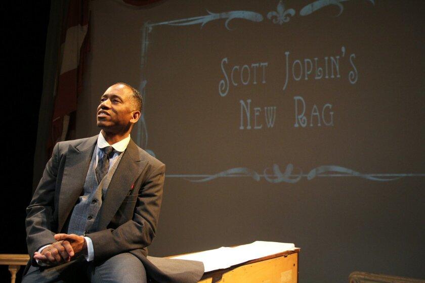 "Robert Barry Fleming in ""Scott Joplin's New Rag."""