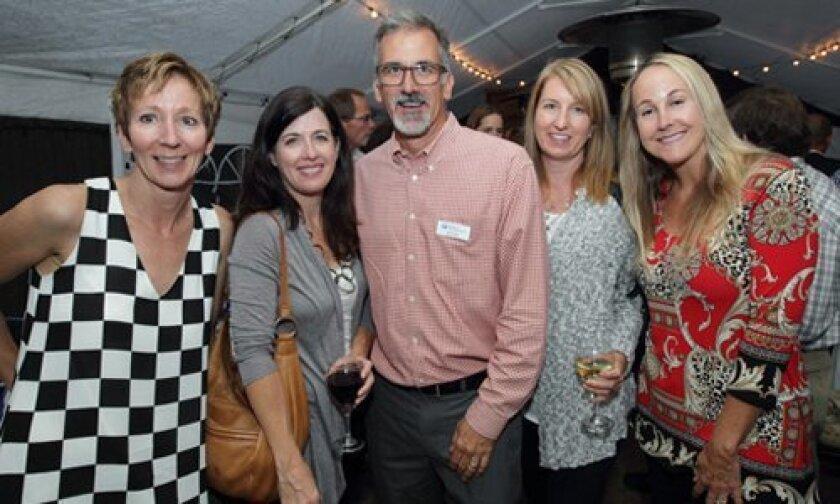 Liz Scoles, Kerri Fox, Don Scoles (San Diego Habitat Conservancy Executive Director), Kathleen Duffel, Perri Pendleton