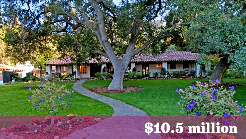 """The Hidden Valley ranch, which was featured in the 2009 film """"It's Complicated,"""" sold for $10.5 million."""