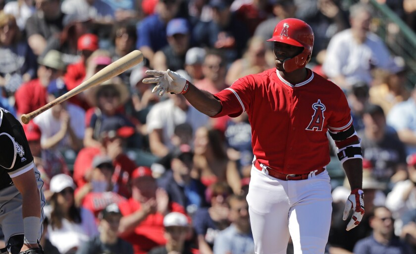 Slumping Justin Upton gets another chance for the Angels at San Francisco.