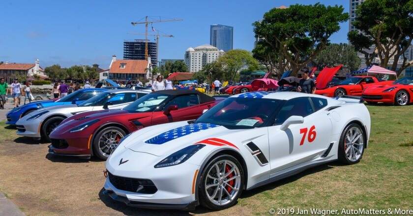 The Corvette Owners Club of San Diego sponsored the show.