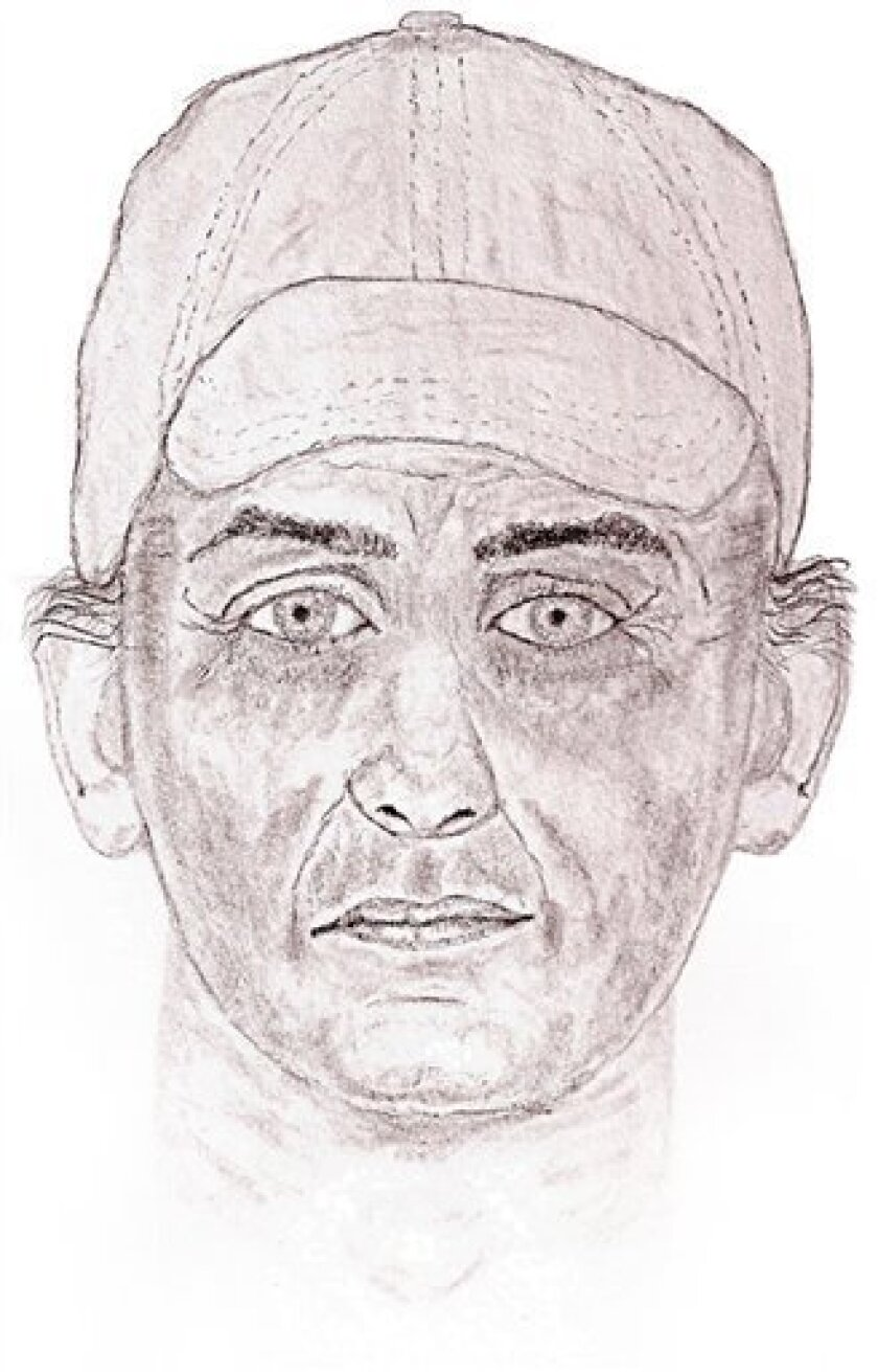 This image originally provided June 28, 2009 by the Cherokee County Sheriff's Department shows a sketch of a possible suspect in a series of recent murders in Cherokee County, S.C. Sheriff's deputies searched Friday, July 3, 2009 for a serial killer blamed for four deaths over the past six days as terrified residents wondered who might be next. (AP Photo/Cherokee County Sheriff's Department via Spartanburg Herald Journal)