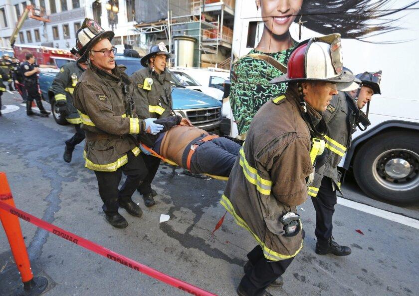 San Francisco bus crash