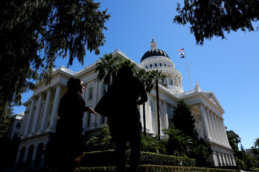California voters are being asked to force transparency in the Legislature. Here's a Proposition 54 explainer.