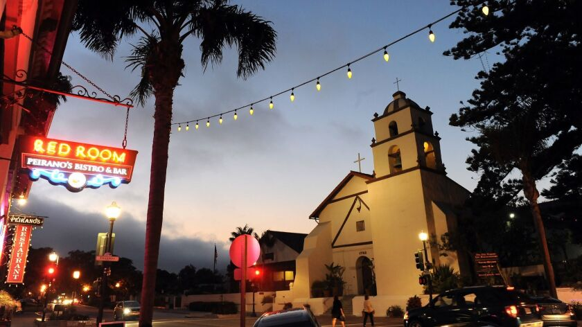 VENTURA, CALIFORNIA AUGUST 5, 2014-The San Buenaventura Mission in Ventura. (Wally Skalij/Los Angele