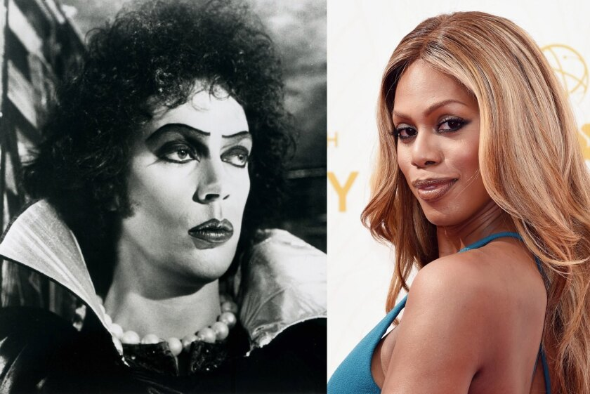 "Laverne Cox cast in the ""Rocky Horror Picture Show"" remake"