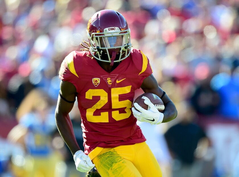 USC's Ronald Jones II has come a long way since first game with Stanford