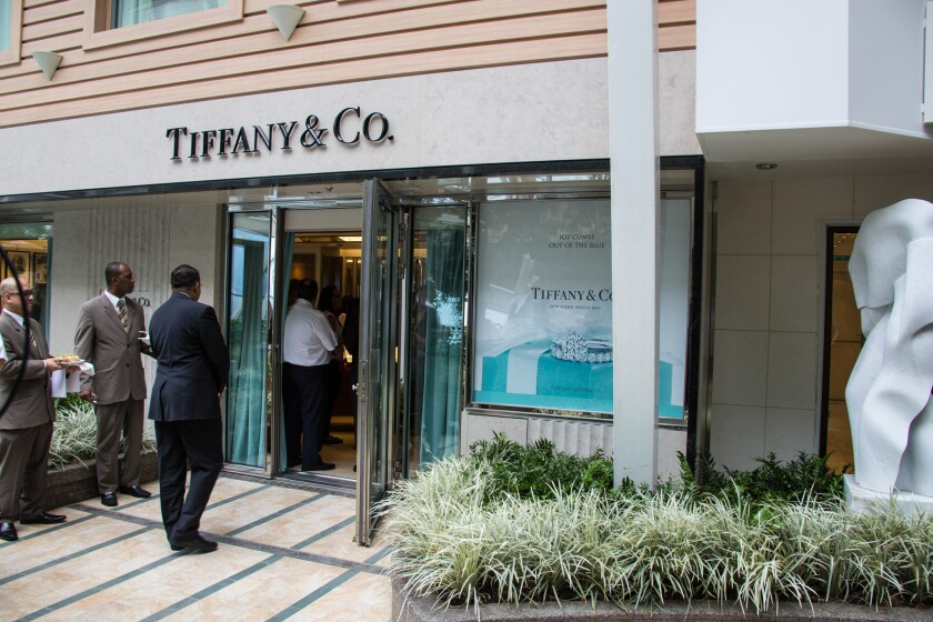 Jeweler Tiffany & Co. recently opened a boutique aboard Royal Caribbean's Oasis of the Seas cruise ship.