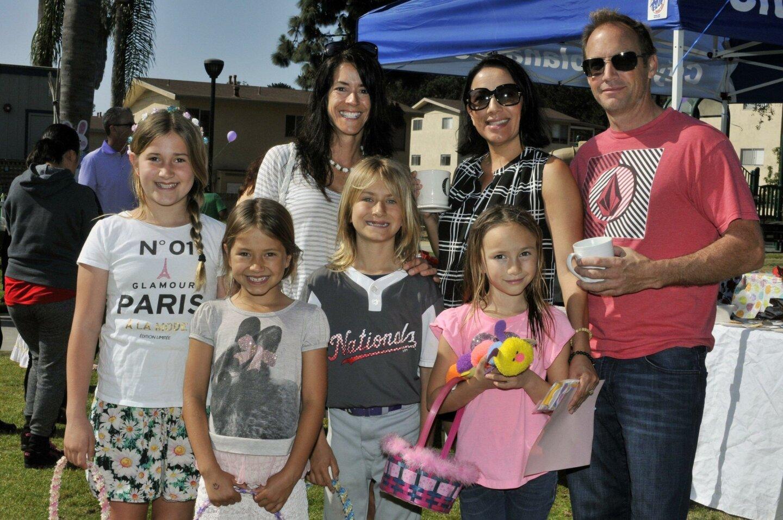 Catherine Brooks, Brenda Grijalva, Garth Bourdette, with Lorelei, Chloe, Noah and Natasha