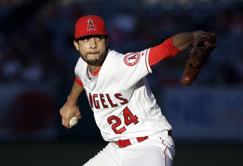 Angels pitcher Noé Ramirez was suspended three games for hitting the Astros' Jake Marisnick.