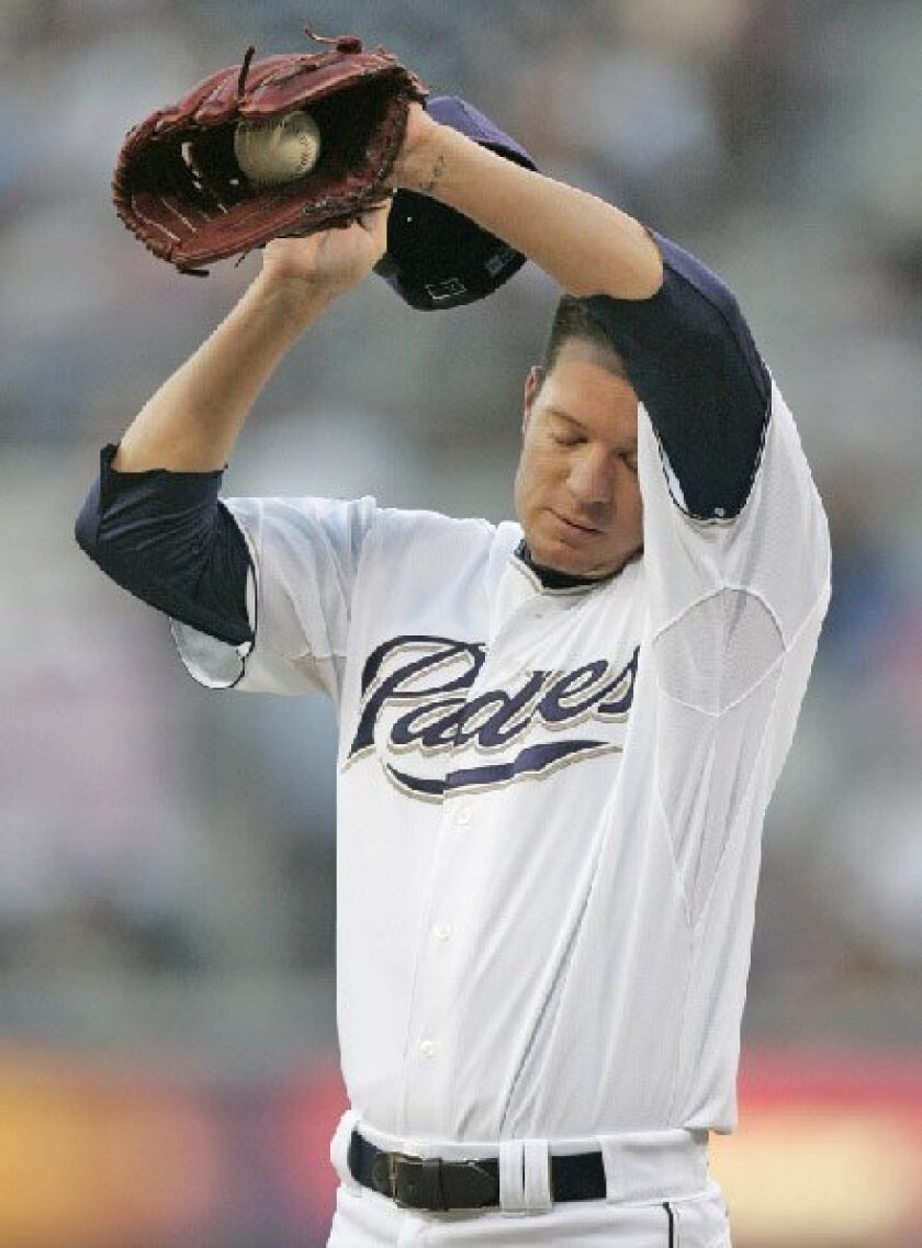 What now for Padres pitcher Jake Peavy? With the ace on the disabled list for a month or more, what's not likely to happen is a trade to another team.