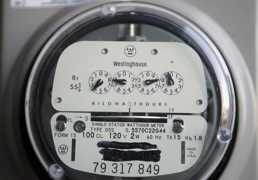 A power meter.