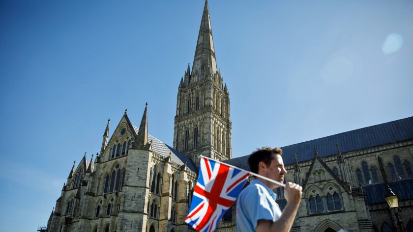 In addition to the rare Magna Carta, the Salisbury Cathedral is known for having Britain's tallest cathedral spire.